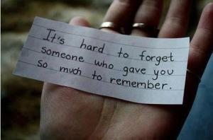 its-hard-to-forget-someone-who-gave-you-so-much-to-remember-break-up-quote